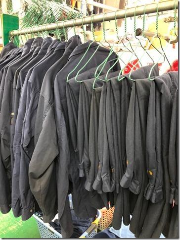 安価クリーニングご希望の事業所向け、洗いっぱなし簡易納品例。